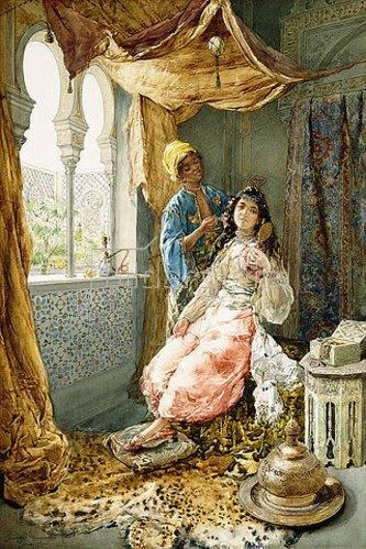 Amadeo Momo Simonetti: Die Lieblingsdame des Sultans. 1900