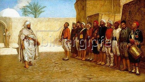 John Evan Hodgson: Die Neuordnung der Armee, Marokko. 1872