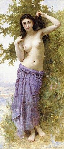 William Adolphe Bouguereau: Römische Schönheit. 1904