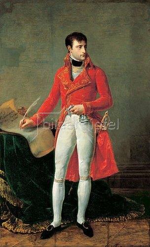 Antoine Jean Gros: Porträt von Napoleon Bonaparte.