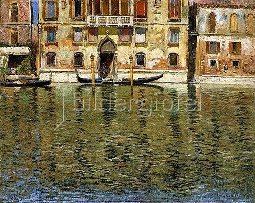 Carlo Brancaccio: Der Canal Grande, Venedig.