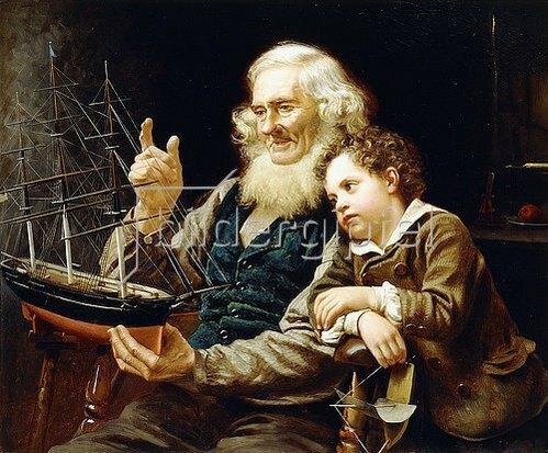 John George Brown: Geschichten von der See (A Story of the Sea). 1883