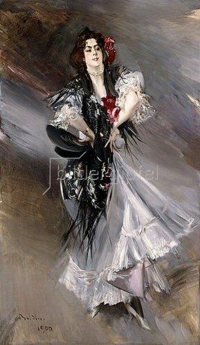Giovanni Boldini: Porträt von Anita de la Feria, einer spanischen Tänzerin. 1900