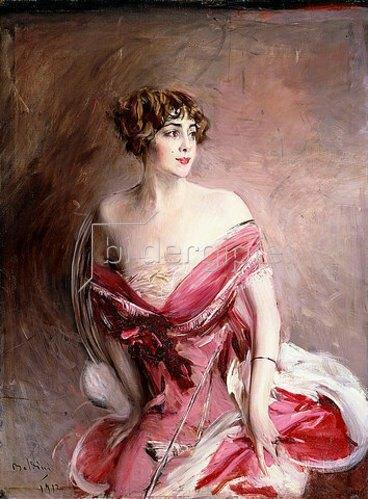 Giovanni Boldini: Mlle. de Gillespie, La Dame de Biarritz. 1912