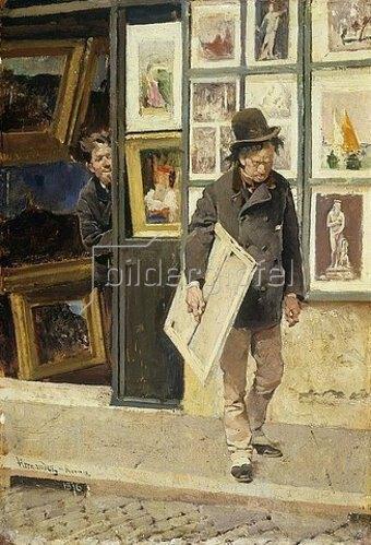 Daniel Hernandez: La Refuse. / Die Ablehnung. 1879.