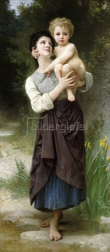 William Adolphe Bouguereau: Bruder und Schwester (Frère et s?ur). 1887