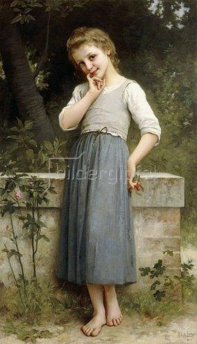 Charles Amable Lenoir: Die Kirschenpflückerin. 1900