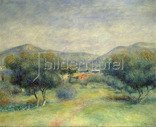 Auguste Renoir: Landschaft bei Toulons.