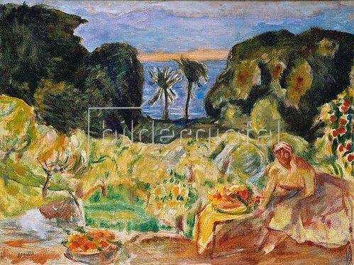 Pierre Bonnard: Südlicher Garten.