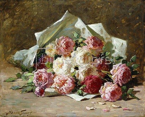 Abbott Fuller Graves: Ein Rosenstrauß.
