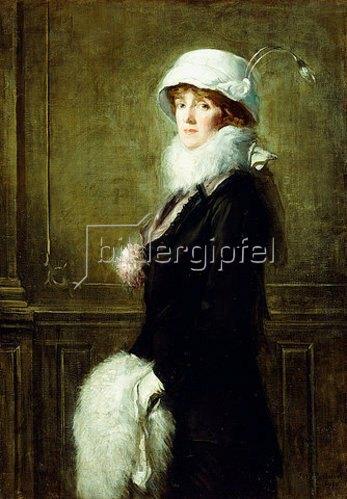 Albert Rosenthal: Porträt von Mrs. H. Bryan Owsley, Philadelphia. 1910