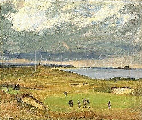Sir John Lavery: Der Golfplatz, North Berwick. 1919