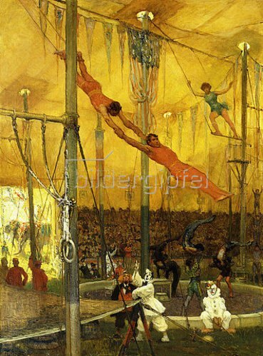 Francis Luis Mora: Trapezkünstler.
