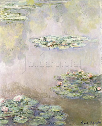 Claude Monet: Seerosen. 1908