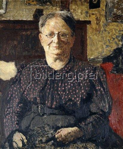 Edouard Vuillard: Porträt von Madame Vuillard. Um 1905