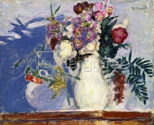 Pierre Bonnard: Vase mit Blumen. 1913