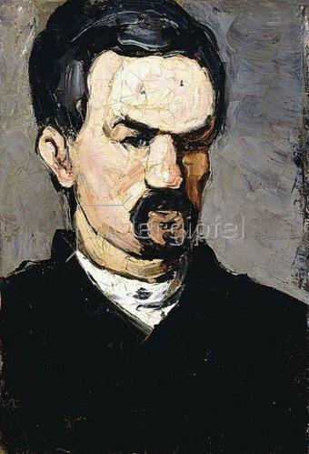 Paul Cézanne: Onkel Dominique. Um 1866
