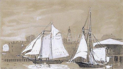Winslow Homer: Zwei Segelschoner. 1880