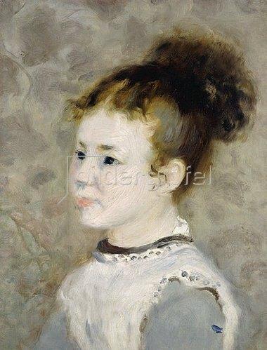 Auguste Renoir: Porträt von Jeanne Sisley. 1875