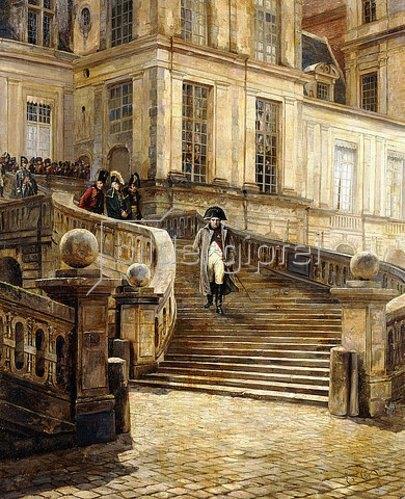 Georges Jules Auguste Cain: Napoleons Abdankung. Um 1890-99