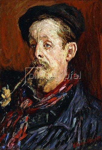Claude Monet: Porträt von Leon Peltier. 1879