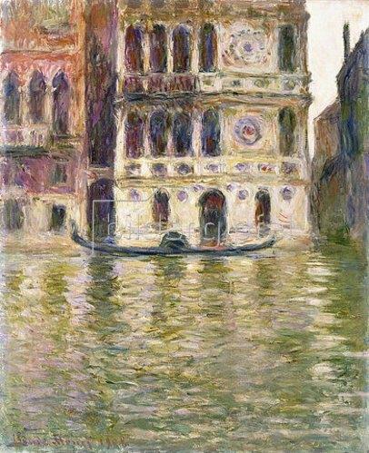 Claude Monet: Der Palazzo Dario. 1908
