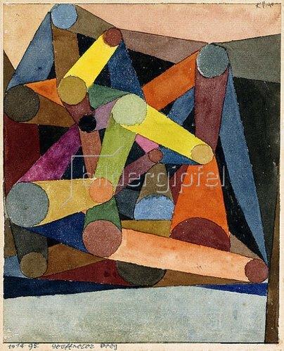 Paul Klee: Geöffneter Berg. 1914