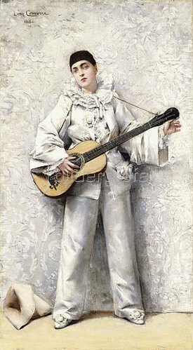 Léon François Comerre: Pierrot. 1886