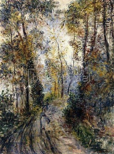 Auguste Renoir: Der Waldweg (Le Chemin dans la Forêt). 1871