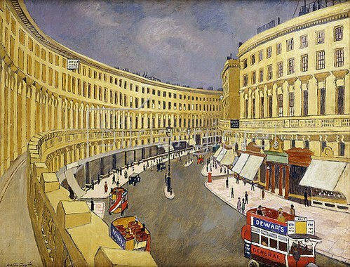 Walter Taylor: Regent Street, London.
