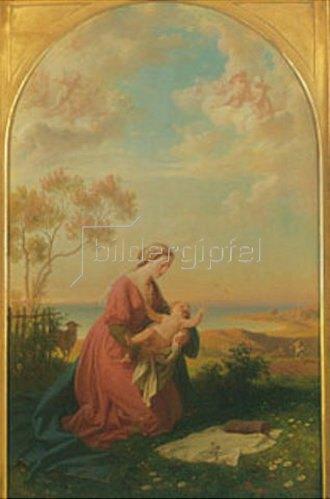 Eugen Napoleon Neureuther: Madonna. 1865.