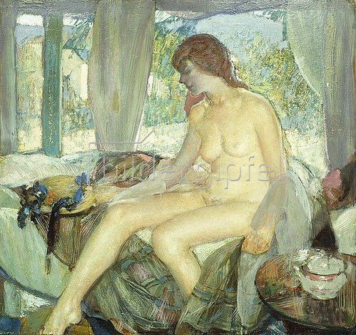 Richard Edward Miller: Morning Contemplation.