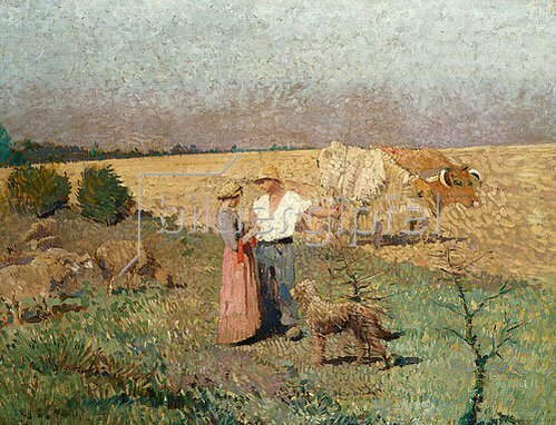 Henri Martin: Feldarbeiter.