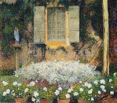 Henri Martin: Das Fenster zum Garten.