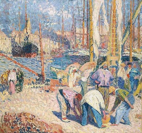 Henri Martin: Marseille.
