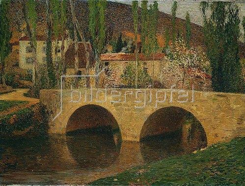 Henri Martin: Die Brücke.