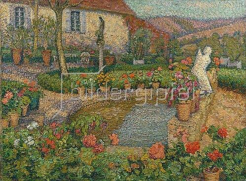 Henri Martin: Mein Haus und mein Garten (Ma Maison et mon Jardin).