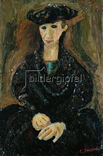 Chaim Soutine: Die Venetianerin. Um 1926