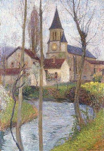 Henri Martin: Die Kirche.