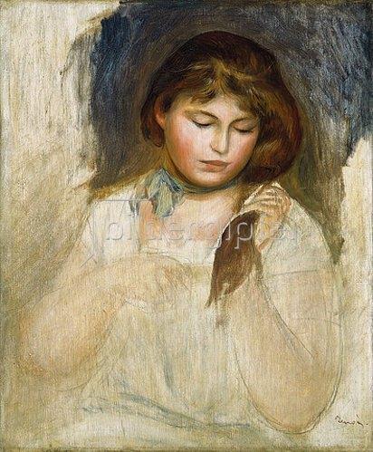Auguste Renoir: Gabrielle (Tête de Gabrielle). 1895