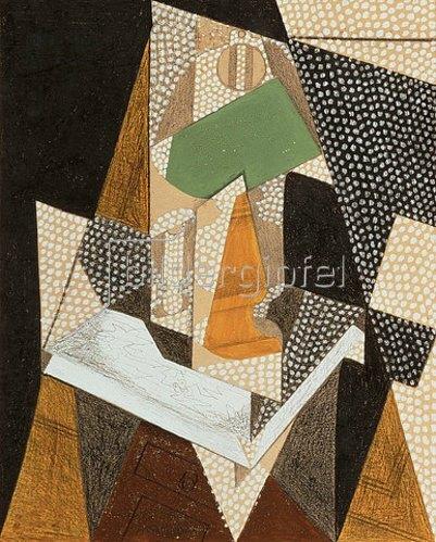 Juan Gris: Die Lampe. 1916