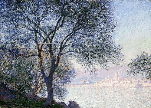 Claude Monet: Antibes von La Salis aus gesehen (Antibes vu de La Salis). 1888