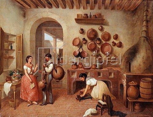 Manuel Serrano: In der Küche der Hacienda.