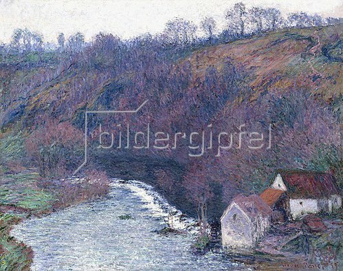 Claude Monet: Die Mühle von Vervy (Le Moulin de Vervy). 1889
