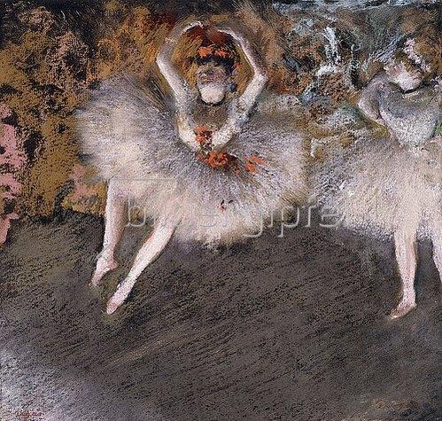 Edgar Degas: Le Pas Battu. Um 1879