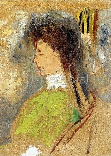 Odilon Redon: Violette Heymann. Um 1910