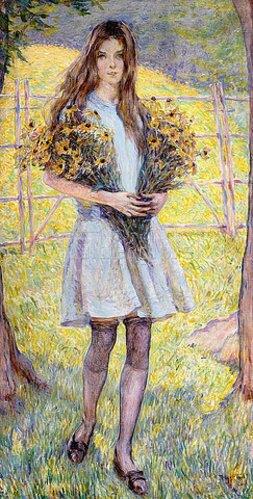 Robert Reid: Schwarzäugige Susanne (Black-Eyed Susans). 1921