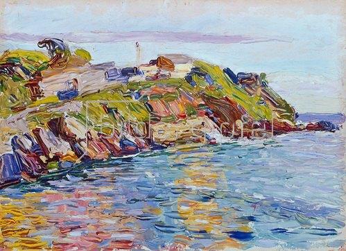 Wassily Kandinsky: Bucht von Rapallo. 1906.
