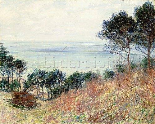 Claude Monet: Die Küste von Varengeville (La Côte de Varengeville). 1882