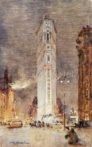 Colin Campbell Cooper: Das Flat Iron Building, New York.